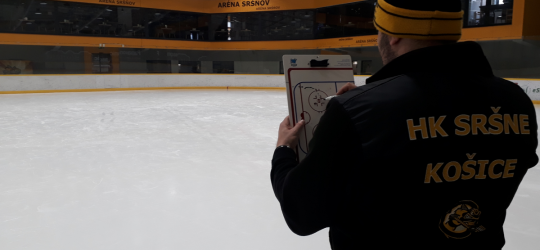 Hokejový klub HK Sršne Košice hľadá hokejového trénera