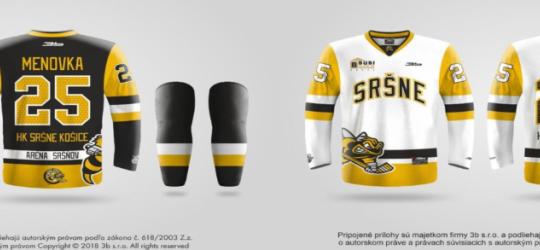 Naše hokejové Sršne majú dve nové sady dresov! JURAJ BUBENKO ĎAKUJEME!
