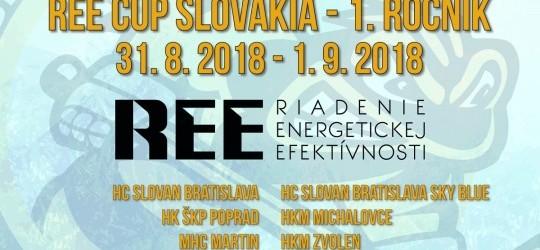 REE Cup Slovakia 2018 už od zajtra v Aréne Sršňov!