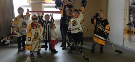 Nábor detí na hokej do hokejovej prípravky HK Sršne Košice dopadol na akcii Hravenisko nad očakávanie