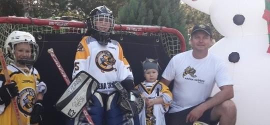 Nábory detí na hokej v Aréne Sršňov začínajú!