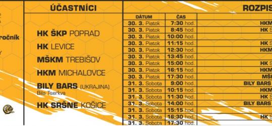 Hokejový turnaj kategórie  U13  Oftum Cup Slovakia 2. ročník sa uskutoční v Aréne Sršňov už tento piatok a v sobotu