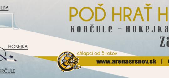 Nábor detí do hokejovej prípravky HK Sršne Košice
