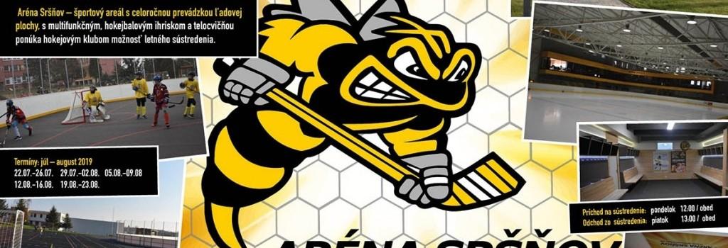 Ponuka letného sústredenia pre hokejové kluby!