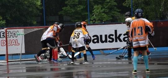 Ôsmaci HK Sršne Košice víťazne na hokejbalovom turnaji vo Vranove