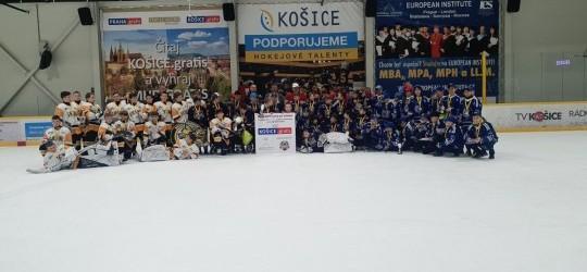 Piataci HK Sršne Košice sa tešia z druhého miesta! Gratulujeme.