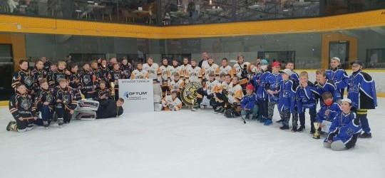 Ďalší hokejový turnaj pre mládež v Aréne Sršňov, tentokrát OFTUM CUP SLOVAKIA!